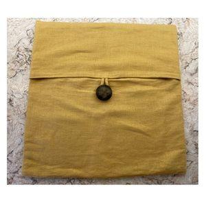 Pottery Barn linen pillow cover